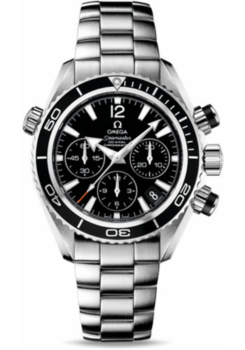 Omega Watches - Seamaster Planet Ocean 600 M Co-Axial Chronograph 37.5 mm - Stainless Steel - Style No: 222.30.38.50.01.001