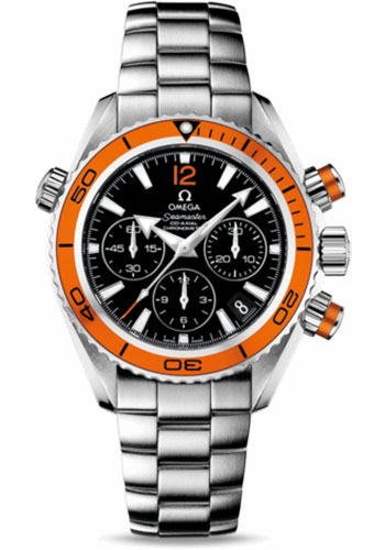 Omega Watches - Seamaster Planet Ocean 600 M Co-Axial Chronograph 37.5 mm - Stainless Steel - Style No: 222.30.38.50.01.002