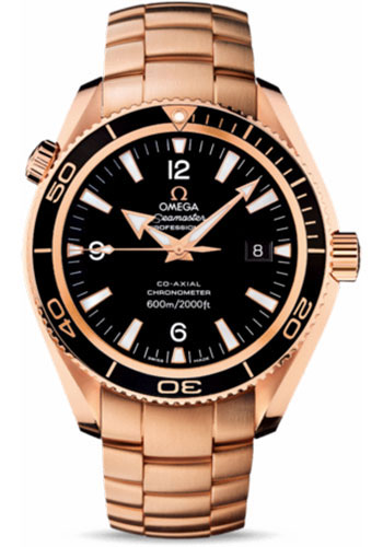 Omega Watches - Seamaster Planet Ocean 600 M Co-Axial 42 mm - Red Gold - Style No: 222.60.42.20.01.001