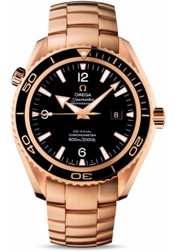 Omega Watches - Seamaster Planet Ocean 600 M Co-Axial 45.5 mm - Red Gold - Style No: 222.60.46.20.01.001