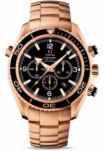 Omega Watches - Seamaster Planet Ocean 600 M Co-Axial Chronograph 45.5 mm - Red Gold - Style No: 222.60.46.50.01.001