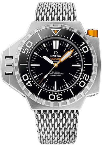 Omega Watches - Seamaster Ploprof 1200M Co-Axial Master Titanium - Style No: 227.90.55.21.01.001