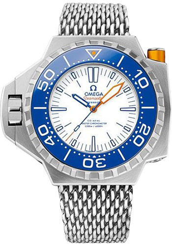 Omega Watches - Seamaster Ploprof 1200M Co-Axial Master Titanium - Style No: 227.90.55.21.04.001