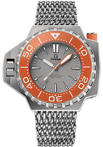 Omega Watches - Seamaster Ploprof 1200M Co-Axial Master Titanium - Style No: 227.90.55.21.99.002