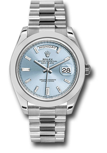 Rolex Watches - Day-Date 40 Platinum - Style No: 228206 ibbdp