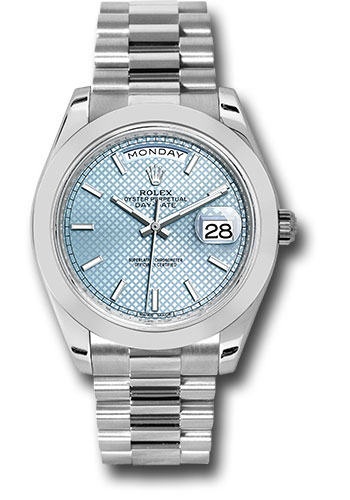 Rolex Watches - Day-Date 40 Platinum - Style No: 228206 ibdmip