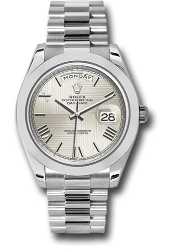 Rolex Watches - Day-Date 40 Platinum - Style No: 228206 sqmrp