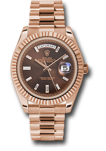 Rolex Watches - Day-Date 40 Everose Gold - Style No: 228235 chbdp