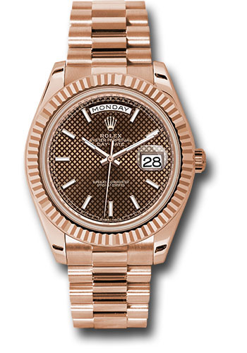 Rolex Watches - Day-Date 40 Everose Gold - Style No: 228235 chodmip