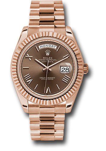 Rolex Watches - Day-Date 40 Everose Gold - Style No: 228235 chorp