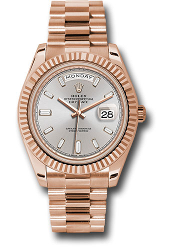 Rolex Watches - Day-Date 40 Everose Gold - Style No: 228235 sdbdp