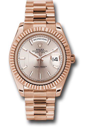 Rolex Watches - Day-Date 40 Everose Gold - Style No: 228235 sdsmip