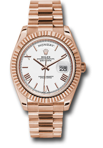 Rolex Watches - Day-Date 40 Everose Gold - Style No: 228235 wrp