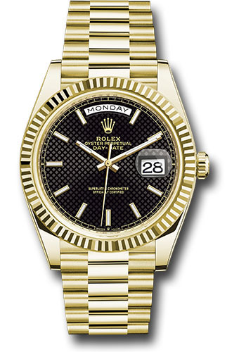 Rolex Watches - Day-Date 40 Yellow Gold - Style No: 228238 bkdmip