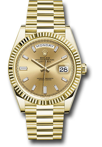 Rolex Watches - Day-Date 40 Yellow Gold - Style No: 228238 chbdp