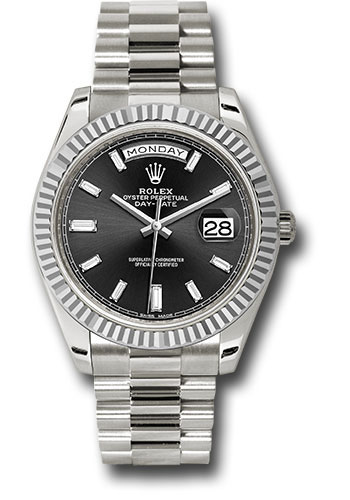 Rolex Watches - Day-Date 40 White Gold - Style No: 228239 bkbdp