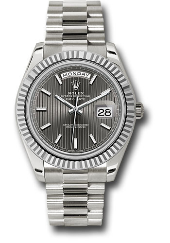 Rolex Watches - Day-Date 40 White Gold - Style No: 228239 rsmip