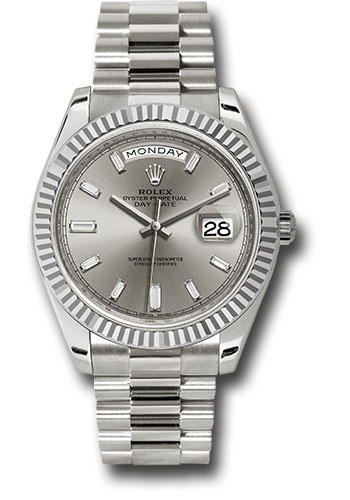 Rolex Watches - Day-Date 40 White Gold - Style No: 228239 sbdp