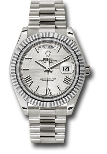 Rolex Watches - Day-Date 40 White Gold - Style No: 228239 sqmrp
