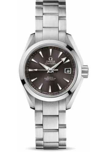 Omega Watches - Seamaster Aqua Terra 150 M Co-Axial 30 mm - Stainless Steel - Style No: 231.10.30.20.06.001