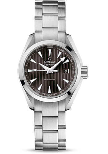 Omega Watches - Seamaster Aqua Terra 150 M Quartz 30.0 mm - Style No: 231.10.30.60.06.001