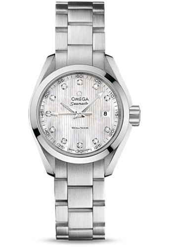 Omega Watches - Seamaster Aqua Terra 150 M Quartz 30.0 mm - Style No: 231.10.30.60.55.001