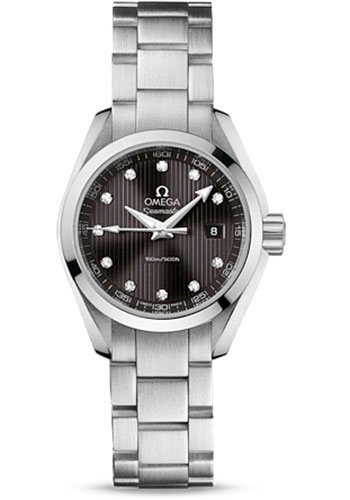 Omega Watches - Seamaster Aqua Terra 150 M Quartz 30.0 mm - Style No: 231.10.30.60.56.001