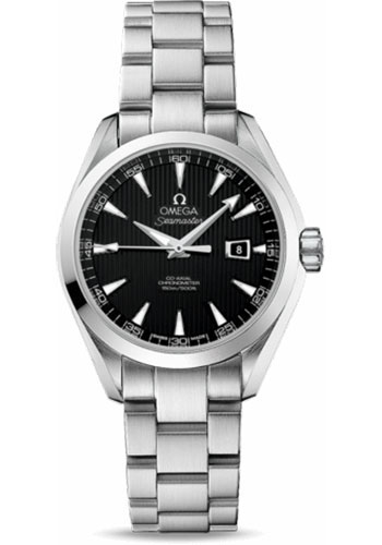 Omega Watches - Seamaster Aqua Terra 150 M Co-Axial 34 mm - Stainless Steel - Style No: 231.10.34.20.01.001