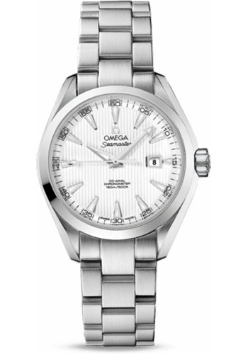 Omega Watches - Seamaster Aqua Terra 150M Co-Axial 34 mm - Stainless Steel - Style No: 231.10.34.20.04.001
