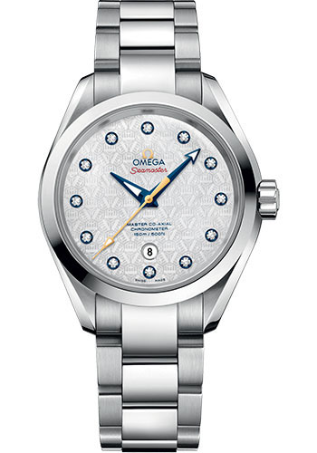 Omega Watches - Seamaster Aqua Terra 150M Co-Axial 34 mm - Stainless Steel - Style No: 231.10.34.20.55.003
