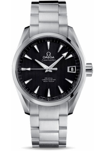 Omega Watches - Seamaster Aqua Terra 150 M Co-Axial 38.5 mm - Stainless Steel - Style No: 231.10.39.21.01.001