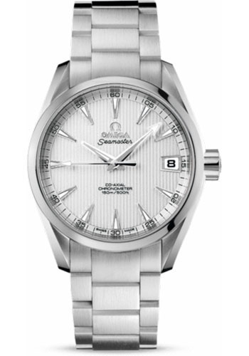 Omega Watches - Seamaster Aqua Terra 150 M Co-Axial 38.5 mm - Stainless Steel - Style No: 231.10.39.21.02.001