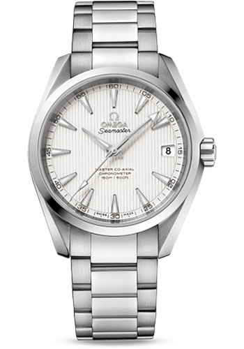 Omega Watches - Seamaster Aqua Terra 150 M Master Co-Axial 38.5 mm - Stainless Steel - Style No: 231.10.39.21.02.002