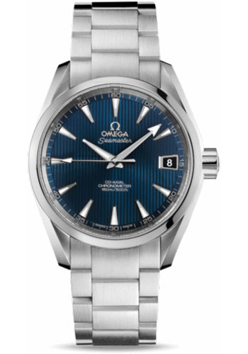 Omega Watches - Seamaster Aqua Terra 150 M Co-Axial 38.5 mm - Stainless Steel - Style No: 231.10.39.21.03.001