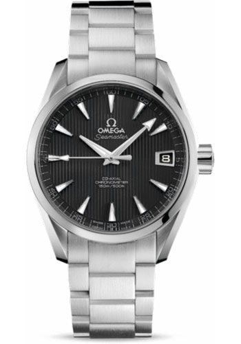 Omega Watches - Seamaster Aqua Terra 150 M Co-Axial 38.5 mm - Stainless Steel - Style No: 231.10.39.21.06.001