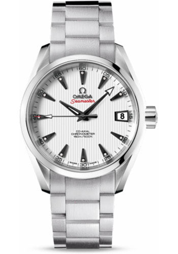 Omega Watches - Seamaster Aqua Terra 150 M Co-Axial 38.5 mm - Stainless Steel - Style No: 231.10.39.21.54.001