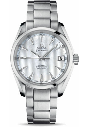 Omega Watches - Seamaster Aqua Terra 150 M Co-Axial 38.5 mm - Stainless Steel - Style No: 231.10.39.21.55.001