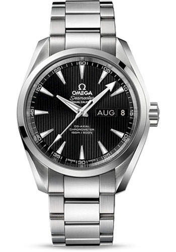 Omega Watches - Seamaster Aqua Terra 150 M Co-Axial Annual Calendar 38.5 mm - Stainless Steel - Style No: 231.10.39.22.01.001