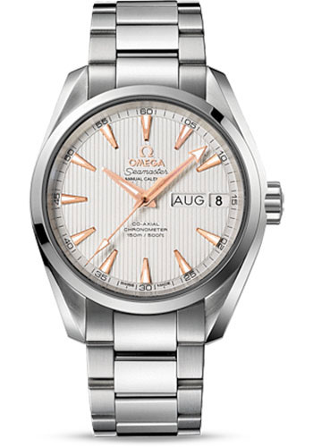 Omega Watches - Seamaster Aqua Terra 150 M Co-Axial Annual Calendar 38.5 mm - Stainless Steel - Style No: 231.10.39.22.02.001