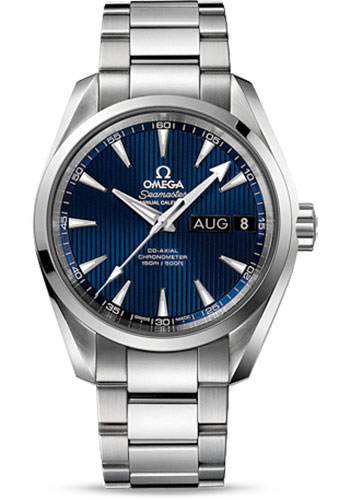 Omega Watches - Seamaster Aqua Terra 150 M Co-Axial Annual Calendar 38.5 mm - Stainless Steel - Style No: 231.10.39.22.03.001