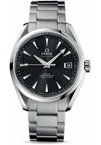 Omega Watches - Seamaster Aqua Terra 150 M Co-Axial 41.5 mm - Stainless Steel - Style No: 231.10.42.21.01.001