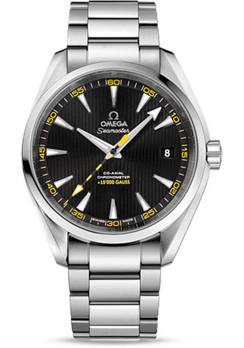 Omega Watches - Seamaster Aqua Terra 150M Co-Axial 41.5 mm - Stainless Steel 15,000 Gauss - Style No: 231.10.42.21.01.002