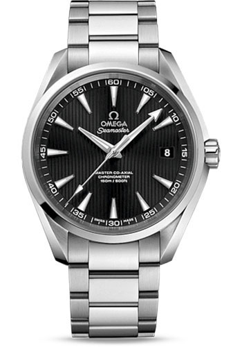 Omega Watches - Seamaster Aqua Terra 150 M Master Co-Axial 41.5 mm - Stainless Steel - Style No: 231.10.42.21.01.003