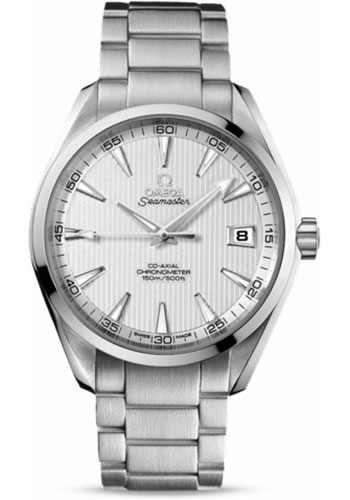 Omega Watches - Seamaster Aqua Terra 150 M Co-Axial 41.5 mm - Stainless Steel - Style No: 231.10.42.21.02.001