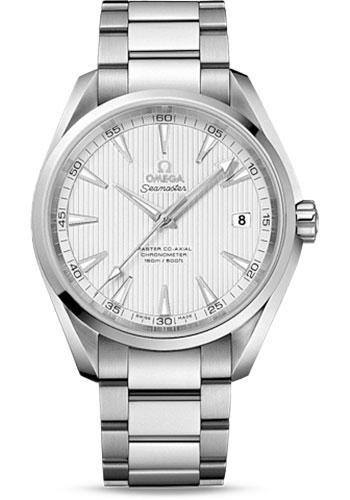 Omega Watches - Seamaster Aqua Terra 150 M Master Co-Axial 41.5 mm - Stainless Steel - Style No: 231.10.42.21.02.003