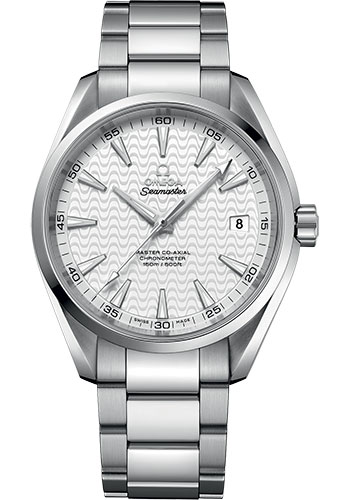 Omega Watches - Seamaster Aqua Terra 150M Master Co-Axial 41.5 mm - Stainless Steel - Style No: 231.10.42.21.02.006