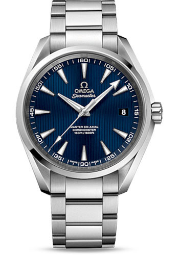Omega Watches - Seamaster Aqua Terra 150 M Master Co-Axial 41.5 mm - Stainless Steel - Style No: 231.10.42.21.03.003
