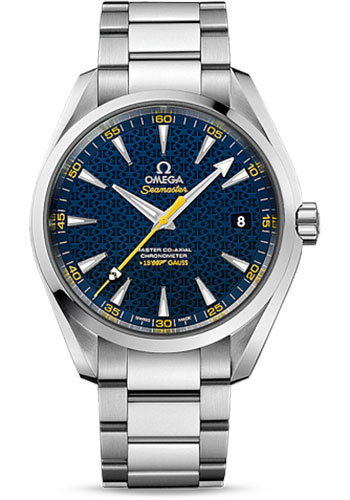 Omega Watches - Seamaster Aqua Terra 150 M Master Co-Axial 41.5 mm - Stainless Steel - Style No: 231.10.42.21.03.004