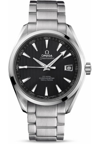 Omega Watches - Seamaster Aqua Terra 150 M Co-Axial 41.5 mm - Stainless Steel - Style No: 231.10.42.21.06.001