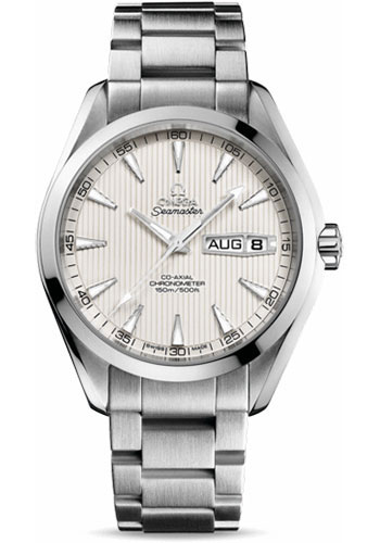 Omega Watches - Seamaster Aqua Terra 150 M Co-Axial Annual Calendar 43 mm - Stainless Steel - Style No: 231.10.43.22.02.001